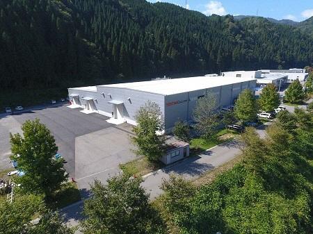 2015年に操業を開始した郡上工場