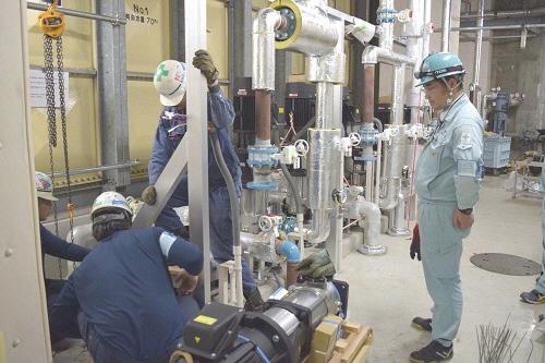 空調設備改修をはじめとする現場管理を担う